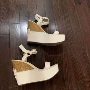Tory Burch leather Sandals Wedges